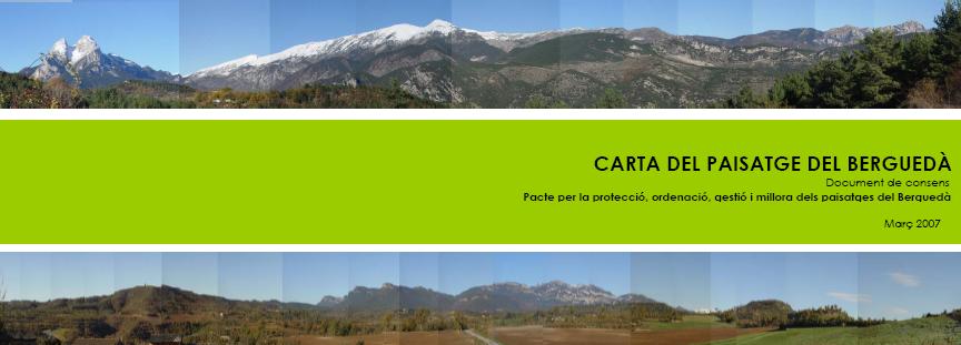 carta paisatge berguedà