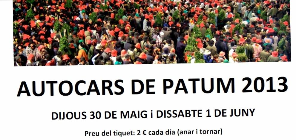 autocars patum 2013