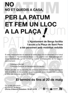 cartell empostissat patum 2013