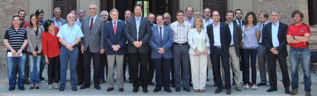 Membres de l'Agència de Desenvolupament del Berguedà
