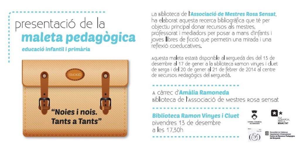 invitació maleta pedagògica