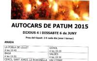 autocars patum 2015