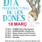 Cartell dia 8 març Vilada 150x150 - Commemoració del Dia Internacional de les dones al Berguedà