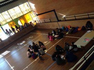 trob.delegats1 300x225 - Delegats i delegades de secundària del Berguedà es troben per formar-se i treballar eines de participació