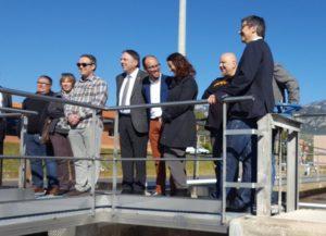 depuradora berga 1 300x217 - Inauguració de l'ampliació de l'estació depuradora d'aigües residuals de Berga