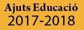 Ajuts Educació 2015 - 2016