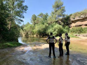 Guardes Rurals a Merlès l'estiu del 2020
