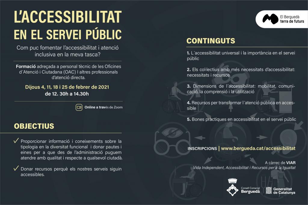 L'accessibilitat en el servei públic
