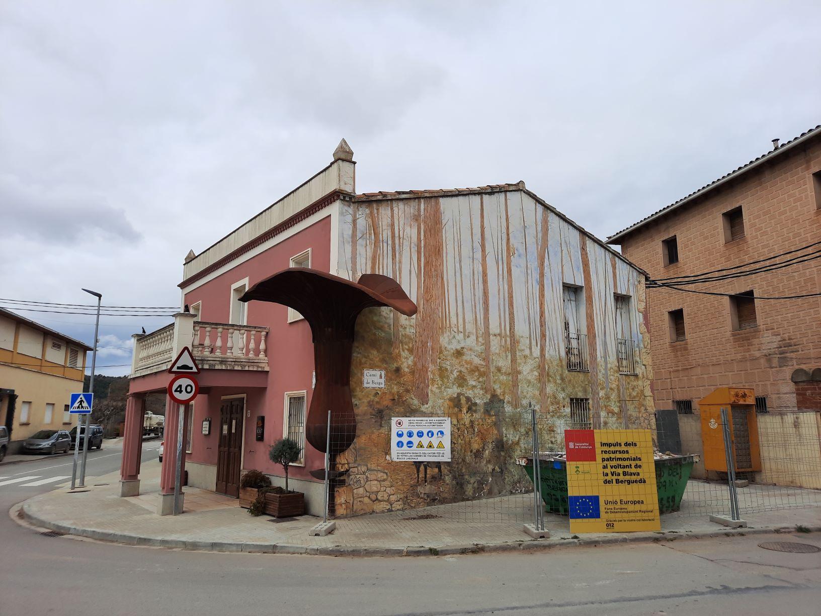 Façana del Museu d'Art del Bolet