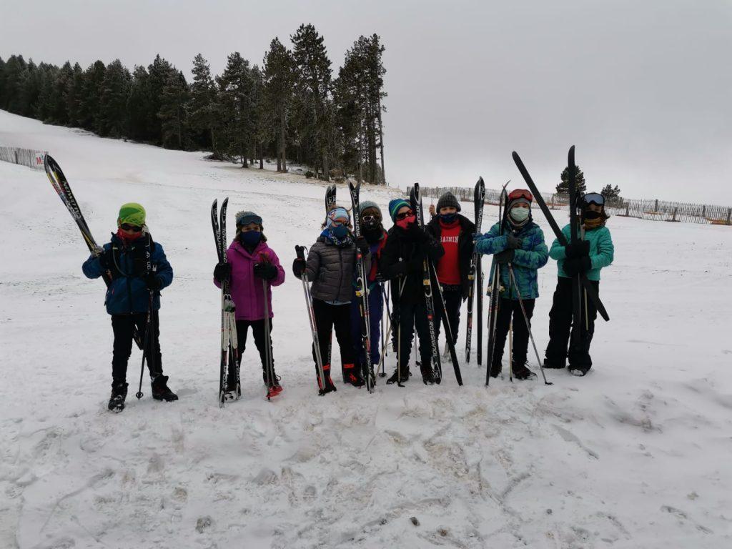 Participants al programa d'Esport Blanc escolar