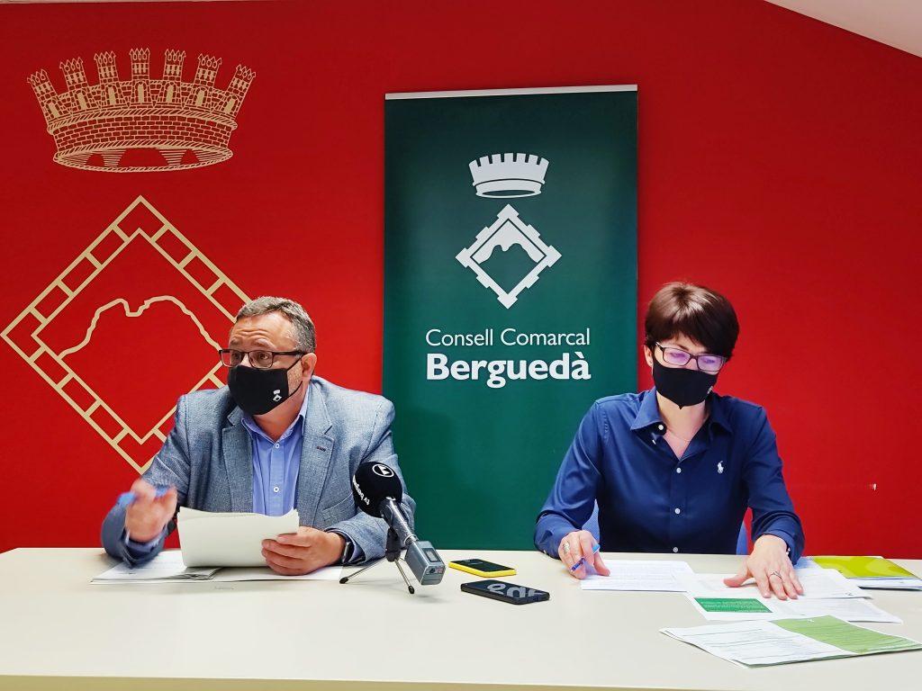 Presentació del pressupost 2021 del Consell Comarcal del Berguedà