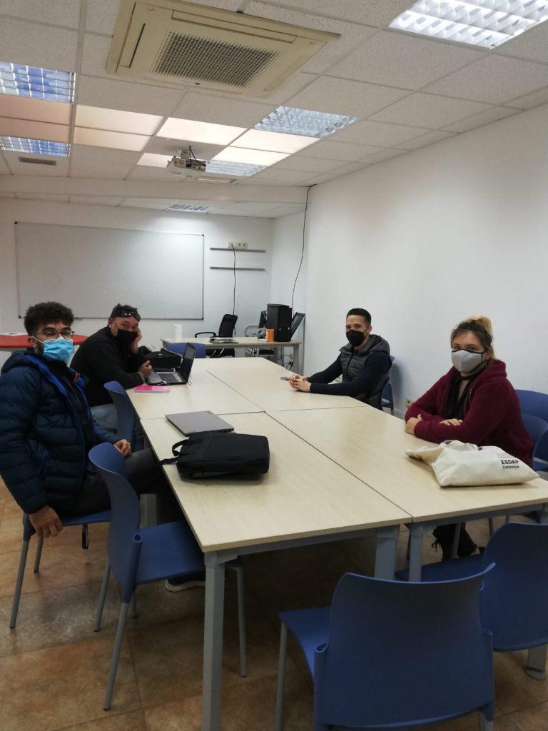 Sessió formativa del joves