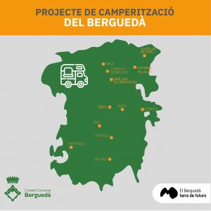 Mapa de camperització del Berguedà