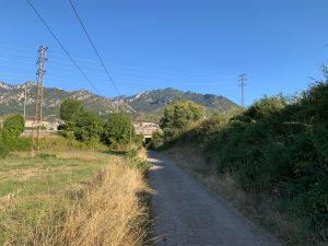 Camí de la torre del Carcaiol a Berga