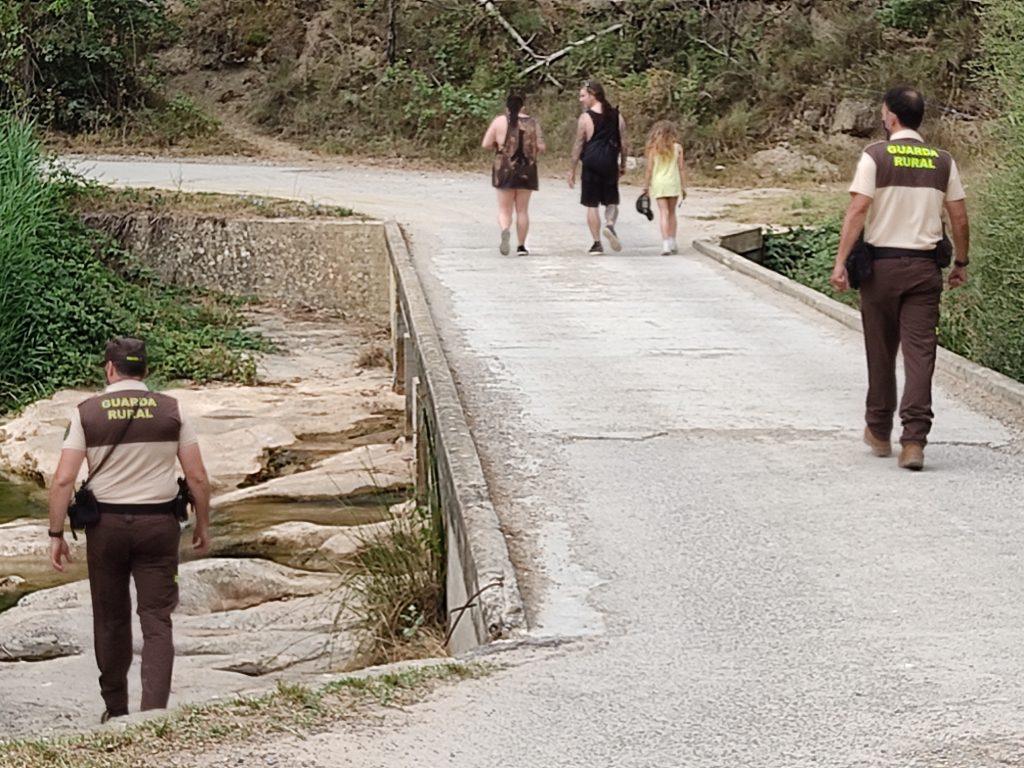 Agents del servei de guarderia rural